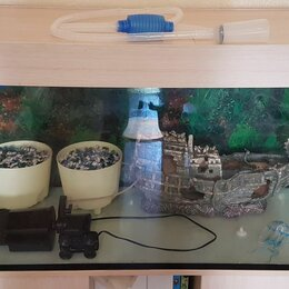 Аквариумы, террариумы, тумбы - Аквариум на 200 литров в комплекте, 0