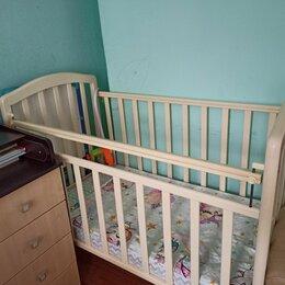 Кроватки - Детская кроватка трансформер, 0