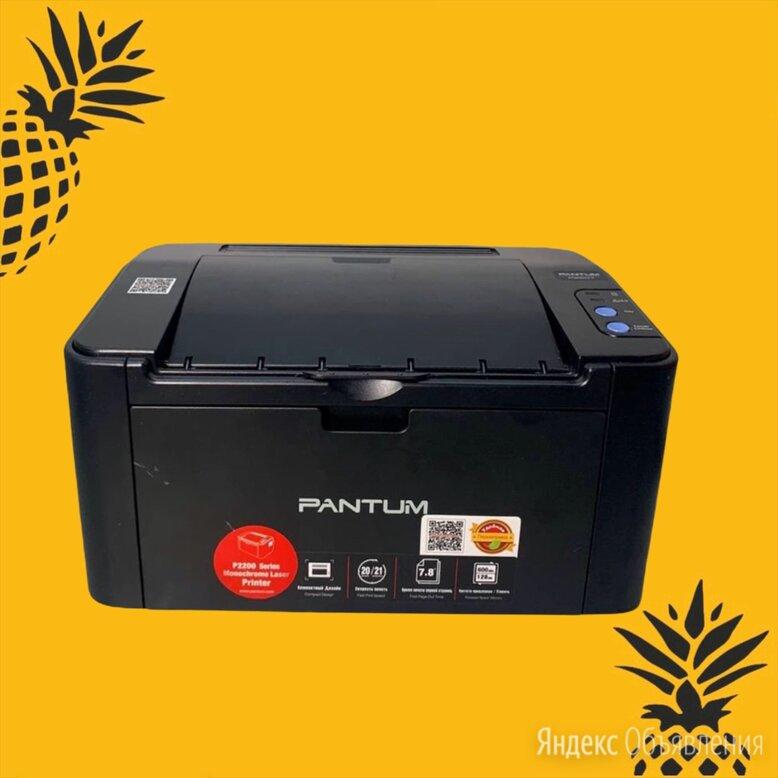 Принтер Pantum P2207 по цене 4500₽ - Принтеры и МФУ, фото 0