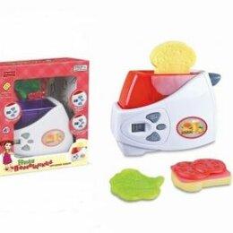 Тостеры - Тостер на бат функц. кнопки. звук Х75761, 0