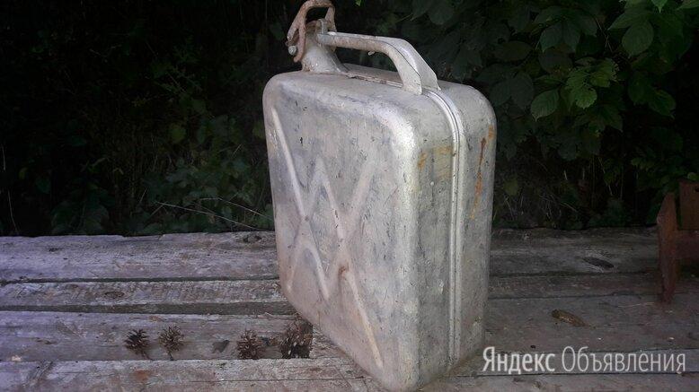 Ретро канистра алюминиевая 20л ссср по цене 800₽ - Прочие аксессуары , фото 0