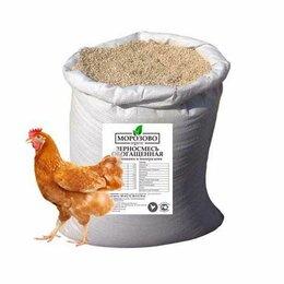 Корма - Комбикорм «Зерносмесь обогащенная» для домашней птицы 30 кг, 0