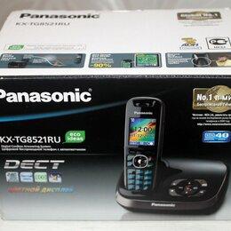 Радиотелефоны - Радио телефон Panasonic KX-TG 8521 RU dect, 0