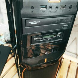 Корпуса - Корпус Aerocool V3X Black+2 вент+картридер+DVD, 0