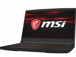 Ноутбуки - MSI GF63 9scxr-614XRU 15.6/Core i7 9750H/8GB/512GB, 0