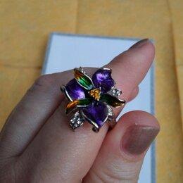 Кольца и перстни - Кольцо Цветок Винограда.Серебро 925 пробы., 0