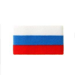 Аксессуары - Напульсник Россия DiWaRi 18С-58СП, 001 белый-синий-красный, 0
