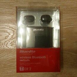 Наушники и Bluetooth-гарнитуры - Беспроводные наушники bluedio elf-2 НОВЫЕ, 0