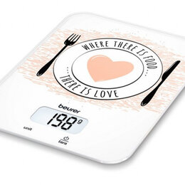 Кухонные весы - Весы Beurer KS19 Love кухонные, 0