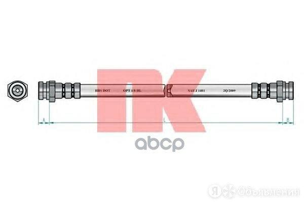 Тормозной Шланг Nk арт. 853250 по цене 950₽ - Тормозная система , фото 0