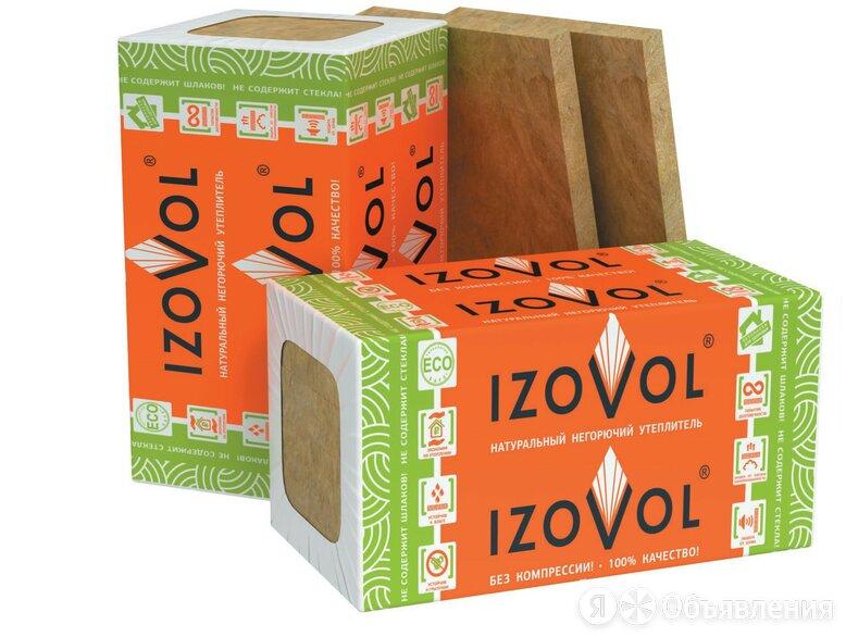 Каменная вата IZOVOL К-100 1000*600*70 по цене 342₽ - Строительные блоки, фото 0