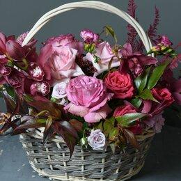 Цветы, букеты, композиции - Композиция «На крыльях любви» - XL (50см), 0