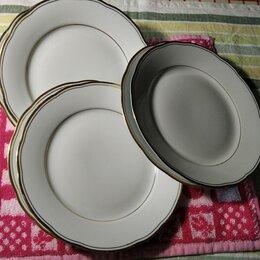 Тарелки - Тарелки десертные фарфор из ГДР, 0