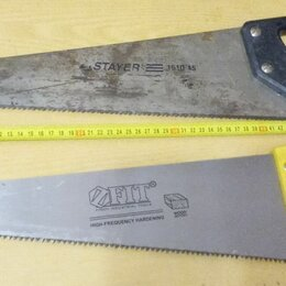 Пилы, ножовки, лобзики - Ножовка по дереву 450 мм, 0