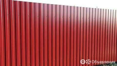 Заборы из профнастила по цене 300₽ - Металлопрокат, фото 0