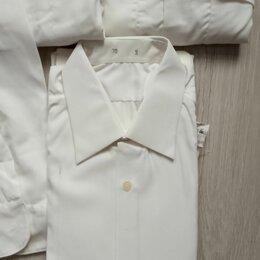 Рубашки - рубашка белая военная новая, 0