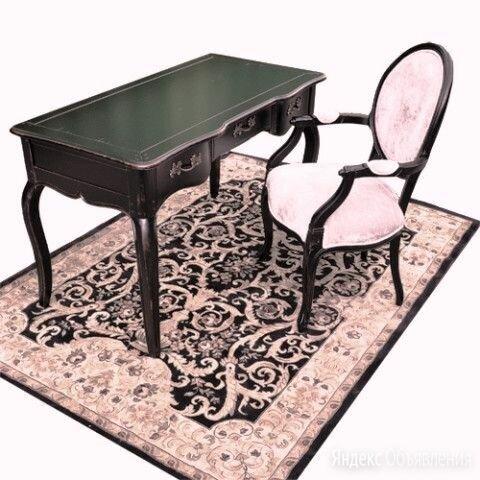 Стол письменный с ящиками Provence Noir&Blanc DF881D (S01) по цене 61850₽ - Компьютерные и письменные столы, фото 0