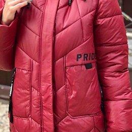 Куртки - Женская длинная куртка евро-зима р-ры 48-60, 0