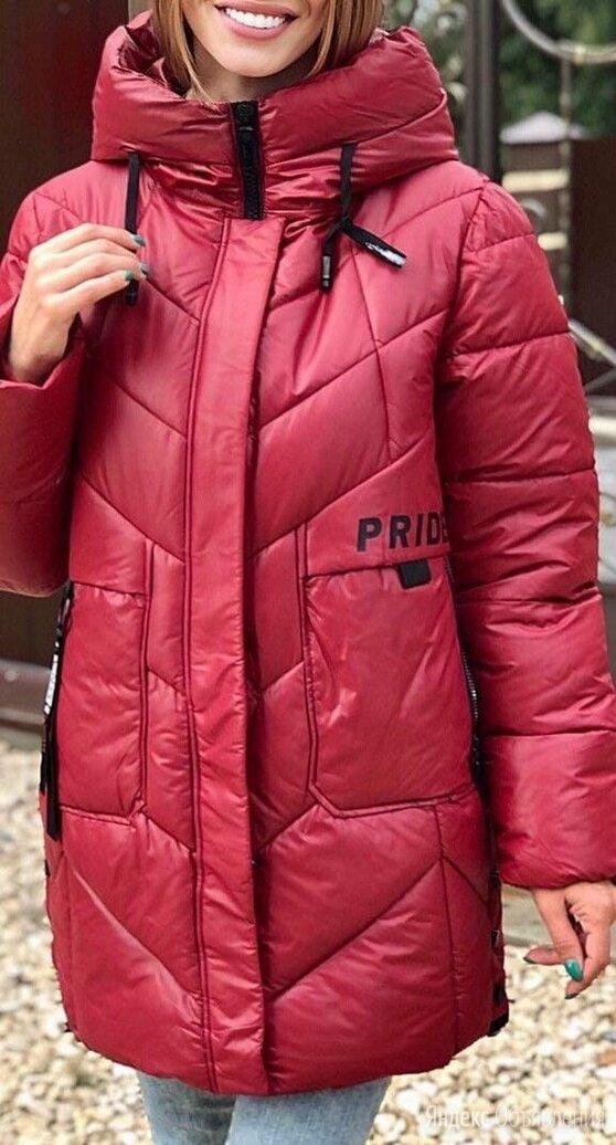 Женская длинная куртка евро-зима р-ры 48-60 по цене 3620₽ - Куртки, фото 0