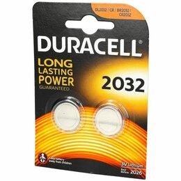 Батарейки - Батарейки Duracell CR2032 2шт, 0