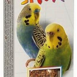 Игрушки и декор  - FIORY палочки для попугаев STICKS с яблоком 2х30 г , 0