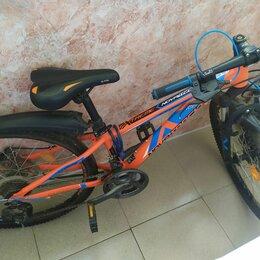 """Велосипеды - Велосипед подростковый stern attack sport 24"""", 0"""