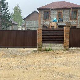 Заборы, ворота и элементы - Откатные ворота , распашные ворота , 0