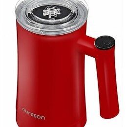 Тёрки и измельчители - Вспениватель молока OURSSON MF3500D/RD (б/у), 0
