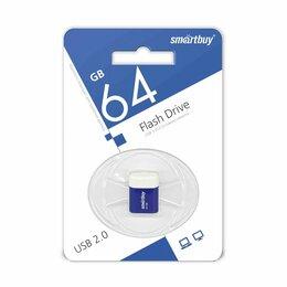 USB Flash drive - FLASH DRIVE SMARTBUY 64GB USB 2.0 LARA BLUE, 0