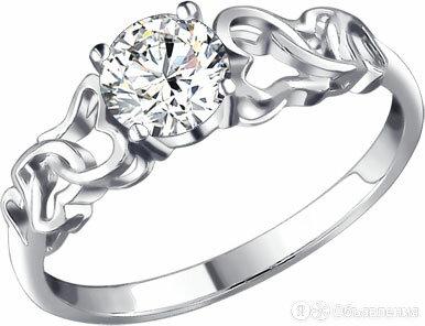 Помолвочное кольцо SOKOLOV 94010858_s_17-5 по цене 710₽ - Кольца и перстни, фото 0