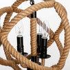 """Люстра """"Плетение"""" 3x40Вт E14 черный 35х35х135 см по цене 11450₽ - Настенно-потолочные светильники, фото 3"""