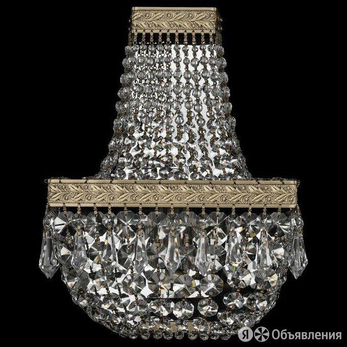 Бра Bohemia Ivele Crystal 1901 19012B/H1/20IV Pa по цене 15812₽ - Интерьерная подсветка, фото 0