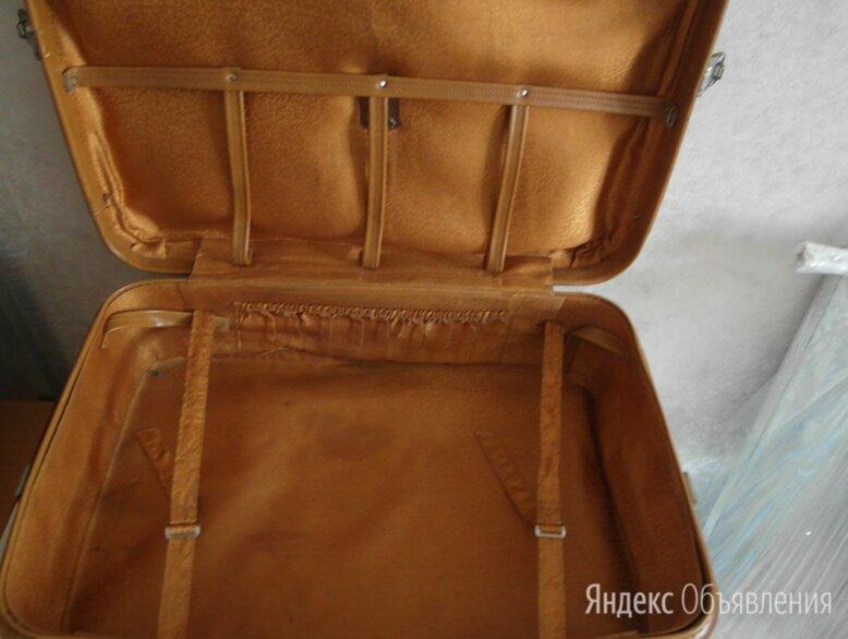 чемодан кожаный  по цене 500₽ - Чемоданы и аксессуары к ним, фото 0