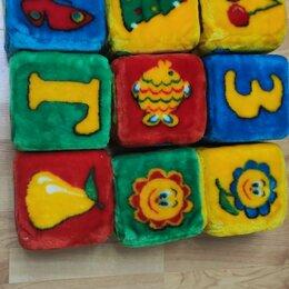 Развивающие игрушки - Большие мягкие кубики, 0