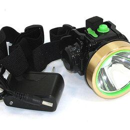 Фонари - Налобный светодиодный фонарь 1LED ZG-705 45W (встроенный аккумулятор), 0