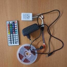 Светодиодные ленты - Светодиодная лента RGBW с пультом 5 м smd 5050, 0