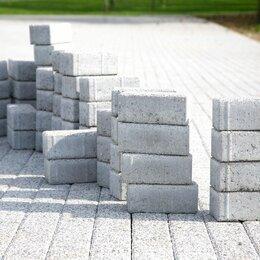 Тротуарная плитка, бордюр - Брусчатка 100х200х50 мм, 0
