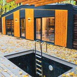 Готовые строения - Модульный дом 62 м² HAPPY HOUSE STUDIO Family как мобильный дом, дача или баня, 0