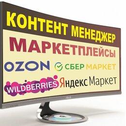 IT, интернет и реклама - Контент-менеджер в интернет-магазины и маркетплейсы, 0