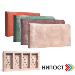 Тротуарная плитка, бордюр - Бордюр полимерпесчаный 500*200*55, 0