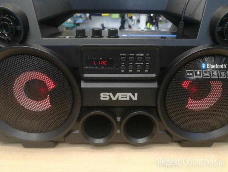 Портативная акустика SVEN PS-580 по цене 5500₽ - Портативная акустика, фото 0