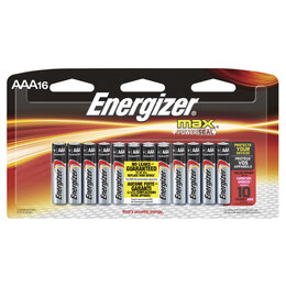 Батарейки - ENERGIZER Батарея LR03 ENERGIZER POWER E92 AAA, 0