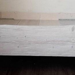 Кровати - Кровать из цельной доски дерева, 0