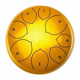 Ударные установки и инструменты - Foix FTD-108F-GD Глюкофон, 25см, Фа мажор, золото, 0