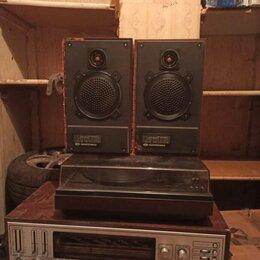 Проигрыватели виниловых дисков - Проигрыватель Радиотехника 301+ 2 колонки + радиола Мелодия Стерео., 0