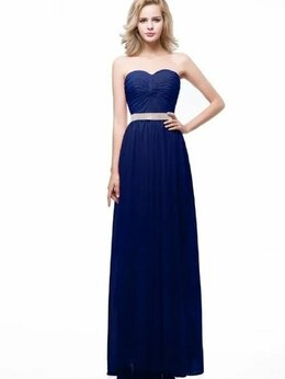 Платья - Вечернее платье в пол, 0