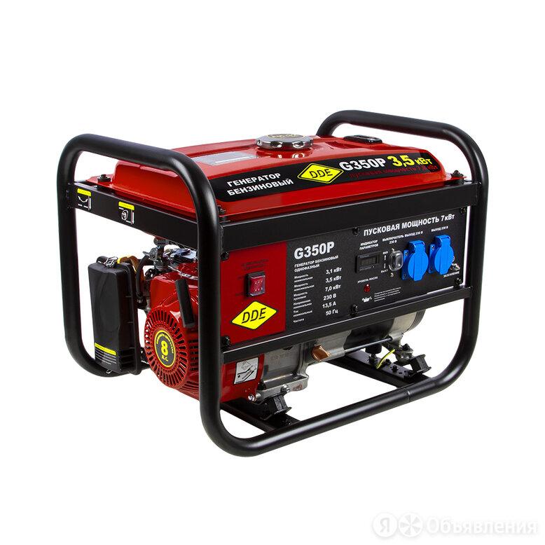 Бензиновый генератор DDE G350P по цене 30690₽ - Электрогенераторы и станции, фото 0