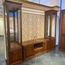 Шкафы, стенки, гарнитуры - Гостиная Берта орех мебель, 0
