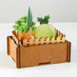 Лепка - Набор для песка «Огород», 0