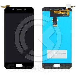 Дисплеи и тачскрины - Дисплей для Asus Zenfone 3s Max ZC521TL +тач черн, 0